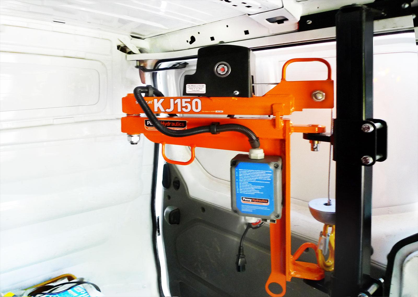 KJ150/1M: Ein leichter und kompakter Kran