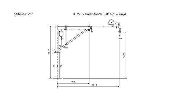 KJ250/1,5M: Erreicht 1,50 Meter