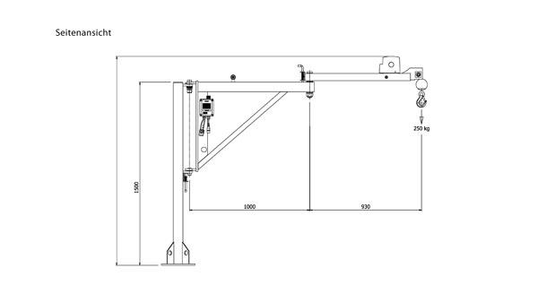 KJ250/2M: Leicht zu bedienen & große Reichweite