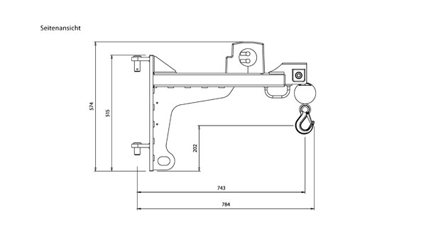 MC250: Der kompakteste Penny Hydraulics Kran – Einklappen nicht nötig