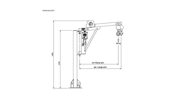 ML250: 250 kg Tragkraft, kompakt & faltbar